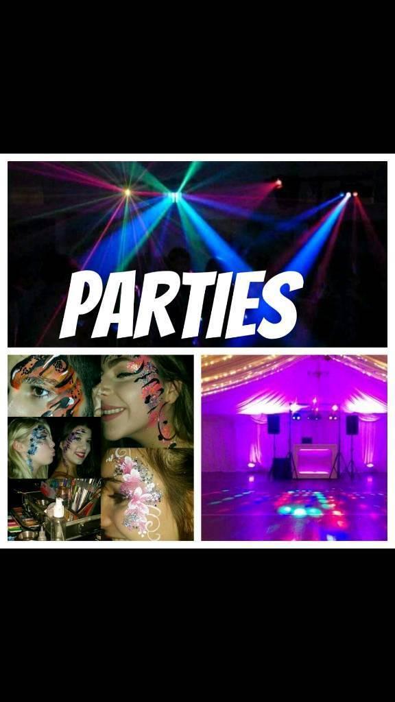 Dj Disco Face painter Balloon Modeller for Parties