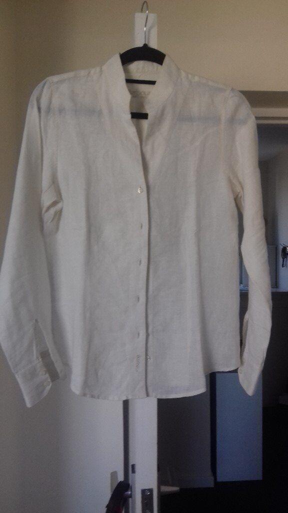 d784290d29 A ladies  Barbour 100% linen shirt