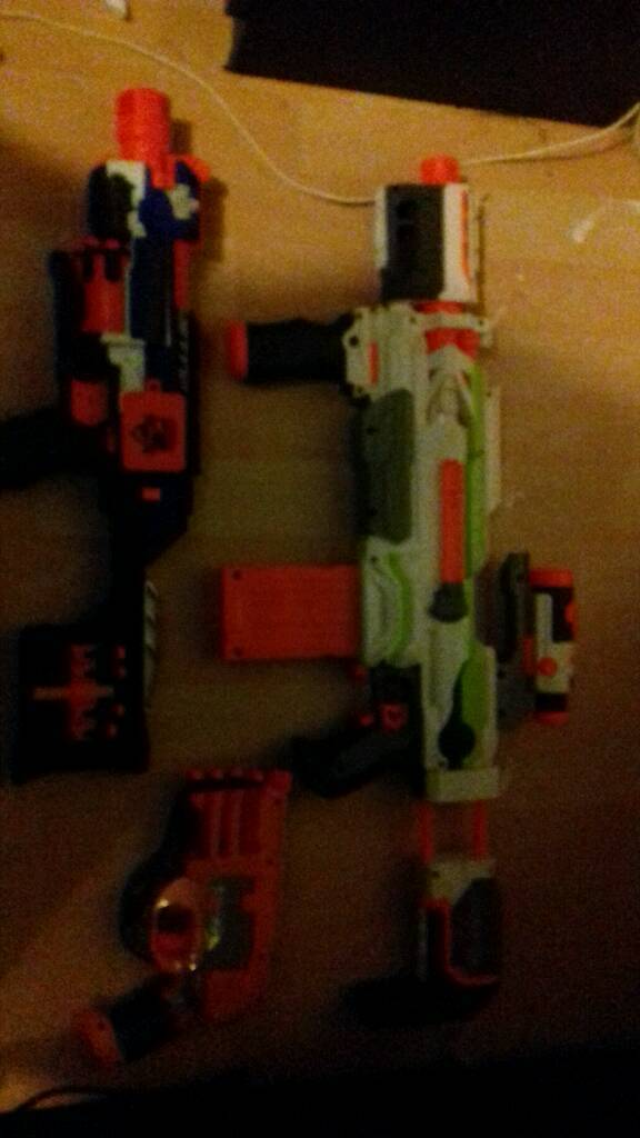 nerf bundle also including nerf modulus