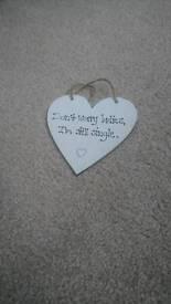 Wedding Page boy funny sign