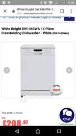White knight dishwasher