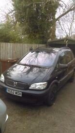 Vauxhall Zafira 1.6 2002 Petrol