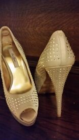 Crystals Ted Baker Shoes Heels size 3