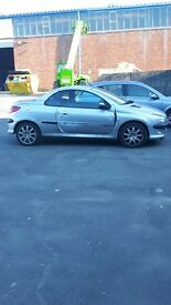 Peugeot 206cc Needs TLC - Bodywork repairs