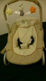 HAUCK BABY BOUNCER AS NEW