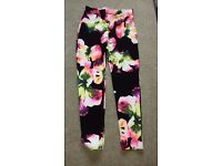 BRAND NEW SUMMER TROUSERS SIZE 14 WITH TAGS