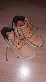Childrens size 13 timberland boots