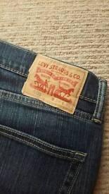 Levi 505 blue jeans. Never Worn