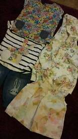 Next, baby girl's clothes, age 0-3 months