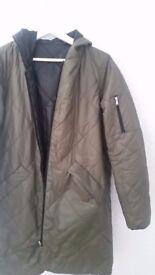 Revesible womans coat