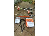 Stihl Kombi Tool KM 94 R 2016 model with HL-KM Hedge trimmer and FS-KM Strimmer attachments