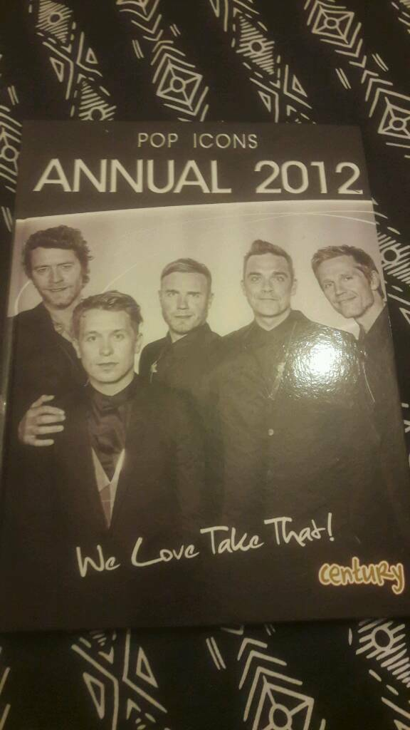 Take that teenagers collectables annual 2012