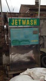 Coin op car wash machine