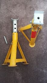 Pair of used axle stands