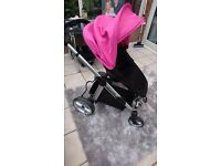 Pink Icandy apple to pear pram