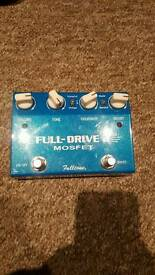 Full-Drive 2 Mosfet overdrive pedal