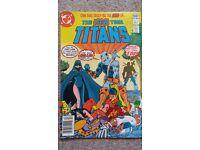 DC Comics New Teen Titans No2