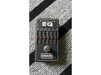 Mxr 6 band eq pedal for guitar