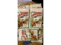 ORGANIC compost large bags