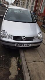 VW POLO very low miliege very quick sale needed