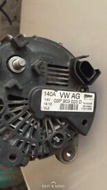 VW Alternator , 140 amp came out of a polo 12 plate , excellent condition