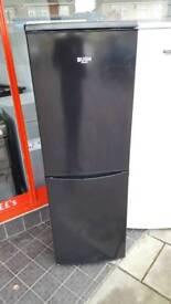 New graded Bush 50cm black fridge freezer with 12 months guarantee