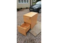 3 Drawer Pedestal Drawers Desk High Drawers Excellent Condition
