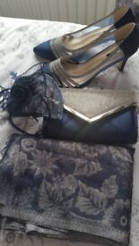 Only used for a few hours shoes bag hat shawl £40