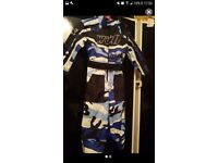 Boys motocross suit