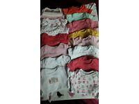 Newborn first size girls bundle