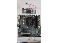 Intel i5-2500k with Dell 0HY9JP Motherboard & 2Gb DDR3 RAM. Comes with IO shield, heatsink & fan