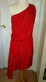 Oasis silk dress