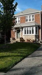Toronto House for Rent, furnished, equipped