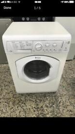 Hotpoint washer dryer 7kg 1200rpm 4 month warranty free delivery and installation