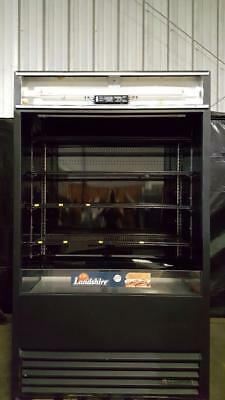 Vertical Air Curtain (True TAC-48 Black Vertical Air Curtain Refrigerated)