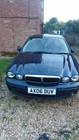 X type jaguar great condition full leather excellent runner forced sale due to illness