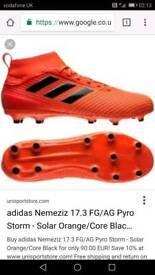 Size 10 Adidas 17.3 FG