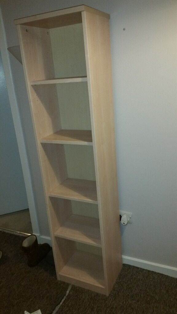 Tall thin shelving unitin FalkirkGumtree - In good condition nice unit low price due to it needing it tighten up a bit and wanting it away Thanks for reading