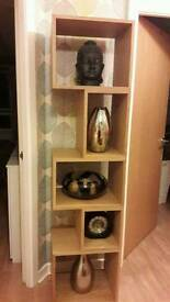 M&S conran good quality matching shelf display unit and matching TV stand