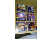 Ps1 games bundle 5games and one demo all in good used condition ! Can deliver or post!