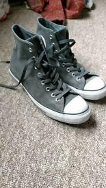 Converse leather high tops NEW hi uk9 uk 9 mens