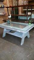 RUSTIC, SHABBY, COTTAGE CHIC, COFFEE TABLE