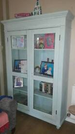Large shabby chic cabinet