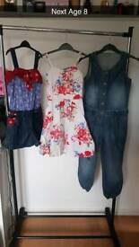 Girls age 7-8 all Next 10 item bundle. Please see pics