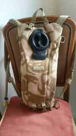 Camouflage camelbak personal hydrater system