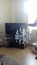 Crystal Chandelier New excellent condition . Buyer collects. Cost £120 accept £70