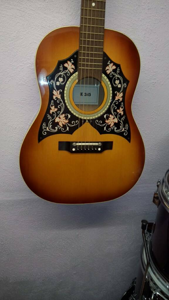Kay Acoustic Guitar 1960s Or 70s In Matlock Derbyshire