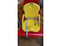 Toddler's booster seat for chair