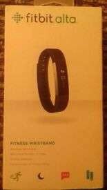 Brand new FITBIT ALTA FITNESS WRISTBAND RRP £89