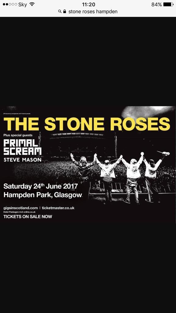 Stone Roses - Hampden